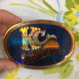 Accessories - 1970's KC And The Sunshine Band Belt Buckle